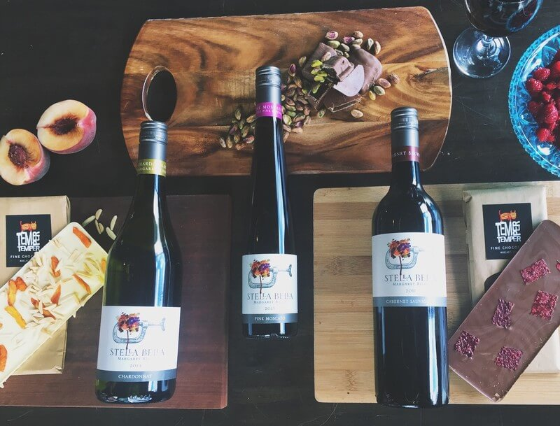 three products of stella bella wines